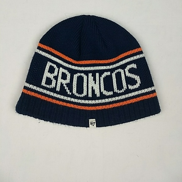 8dace55bf97 47 Other - 47 Brand NFL Team Apparel DENVER BRONCOS Knit Hat